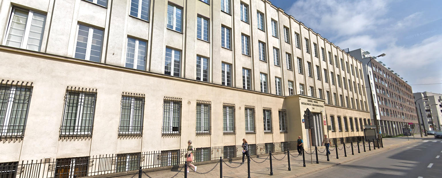 Więcej o: Zespół Szkół Licealnych i Ekonomicznych nr 1 w Warszawie