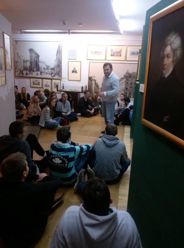 Więcej o: ZSLiE w Muzeum Literatury