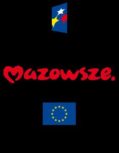 Logotypy: Fundusze Europejskie Program Regionalny, Mazowsze Serce Polski, Unia Europejska Europejski Fundusz Rozwoju Regionalnego
