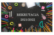 Więcej o: Rekrutacja 2021/2022